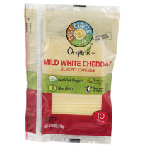 Full Circle - Mild White Cheddar Sliced Cheese