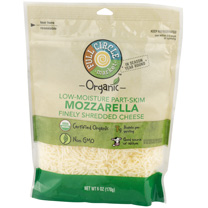Full Circle - Low-Moisture Part-Skim Mozzarella Finely Shredded Cheese